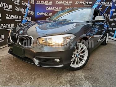 BMW Serie 1 3P 120iA usado (2017) color Gris Mineral precio $299,000