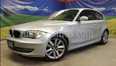 BMW Serie 1 5P HB 120I STYLE TM6 PIEL QC 6 CD BI-XENON RA-17 usado (2008) color Plata precio $115,000