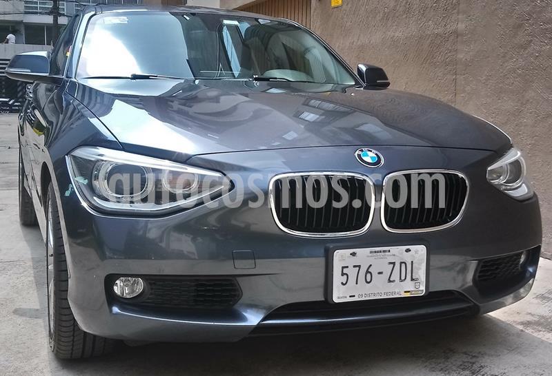 BMW Serie 1 5P 118i Urban Line usado (2014) color Gris Mineral precio $190,000