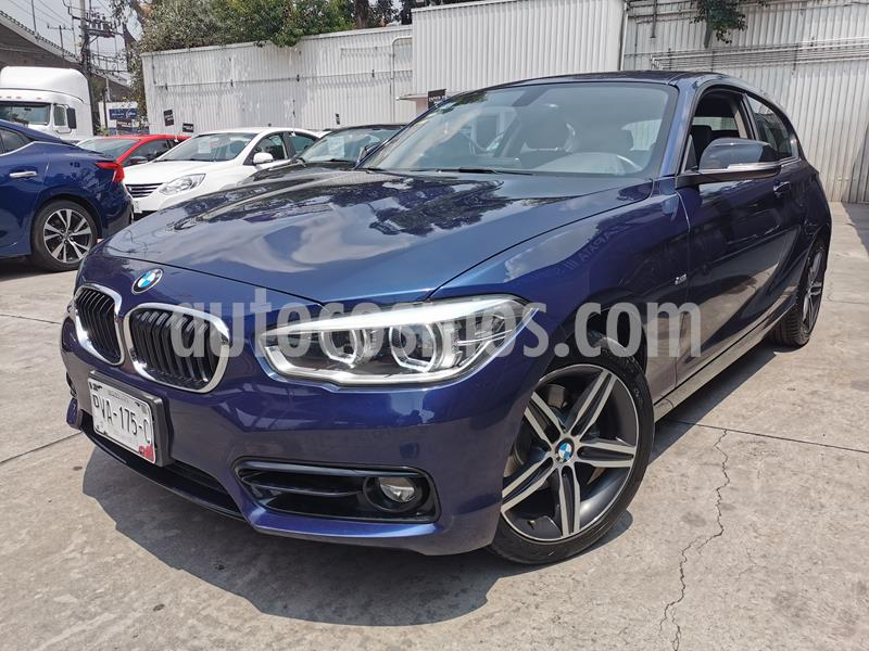 BMW Serie 1 3P 120iA usado (2018) color Azul Medianoche precio $340,000