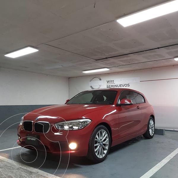 BMW Serie 1 3P 120iA Urban Line usado (2017) color Rojo precio $289,000
