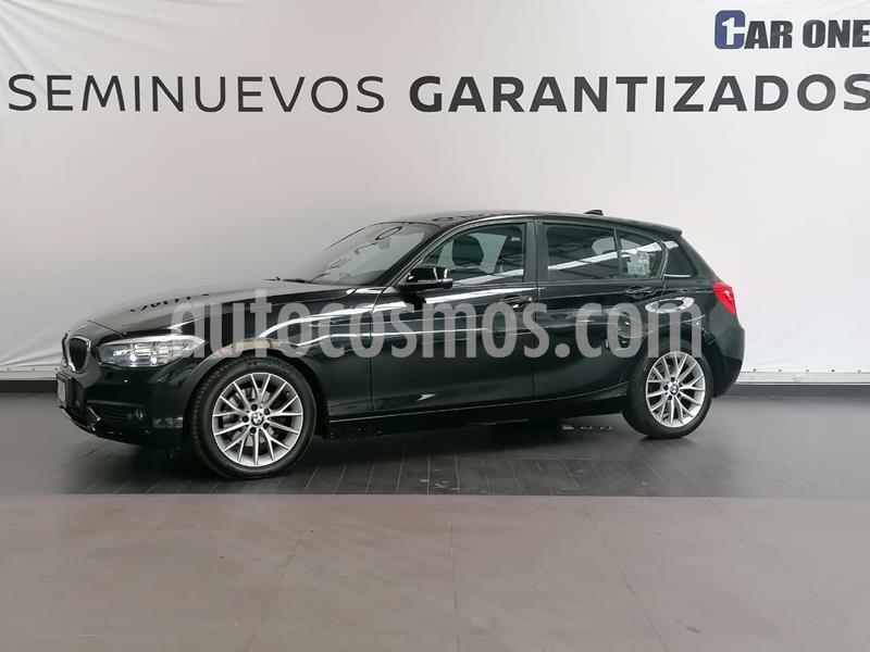 BMW Serie 1 3P 120i usado (2017) color Negro precio $329,900