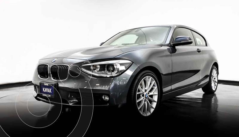 BMW Serie 1 3P 118iA  usado (2014) color Gris precio $237,999