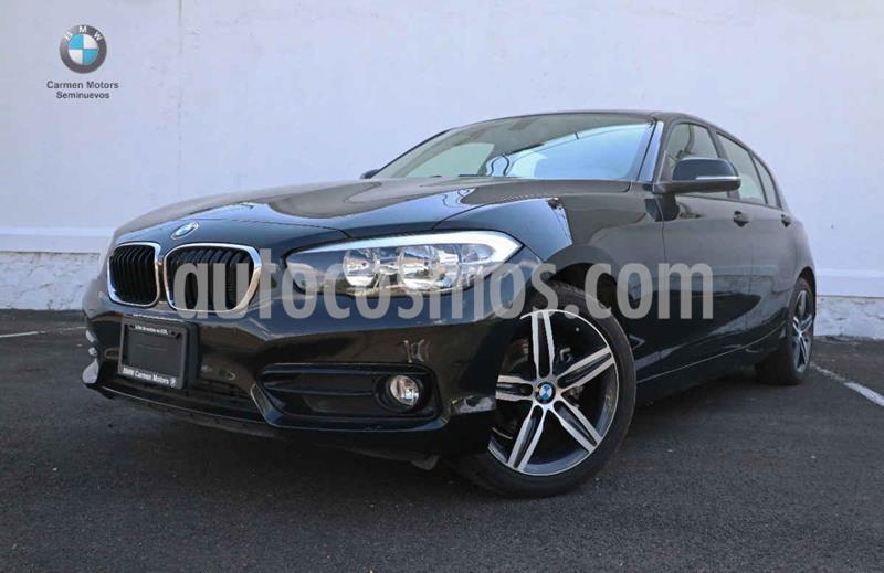 BMW Serie 1 5P 118iA Sport Line usado (2019) color Negro precio $380,000