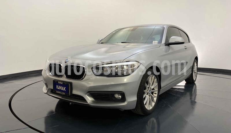 BMW Serie 1 3P 120iA usado (2016) color Gris precio $324,999