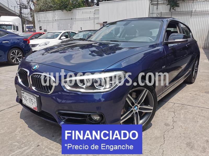 BMW Serie 1 3P 120iA usado (2018) color Azul Medianoche precio $85,000