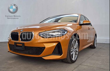 BMW Serie 1 5P 120iA M Sport usado (2020) color Naranja precio $635,000