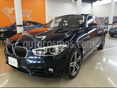 BMW Serie 1 5P 120iA Sport Line usado (2016) color Azul precio $280,000