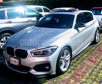 BMW Serie 1 5P 120iA M Sport usado (2017) color Plata precio $358,000