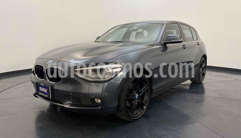 BMW Serie 1 5P 118iA usado (2014) color Gris precio $222,999