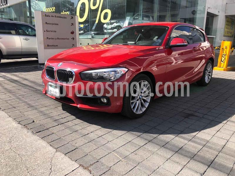 BMW Serie 1 3P 120iA Urban Line usado (2017) color Rojo precio $325,000
