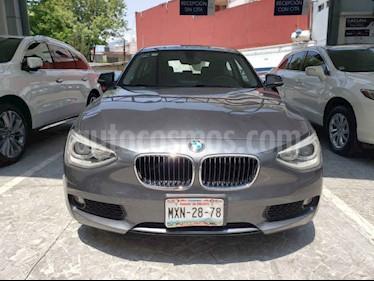 BMW Serie 1 3p 118i L4/1.6/T Man usado (2014) color Gris precio $210,000