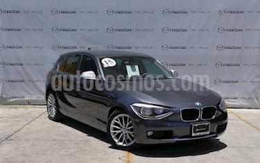BMW Serie 1 5P 118iA usado (2015) color Gris Mineral precio $245,000