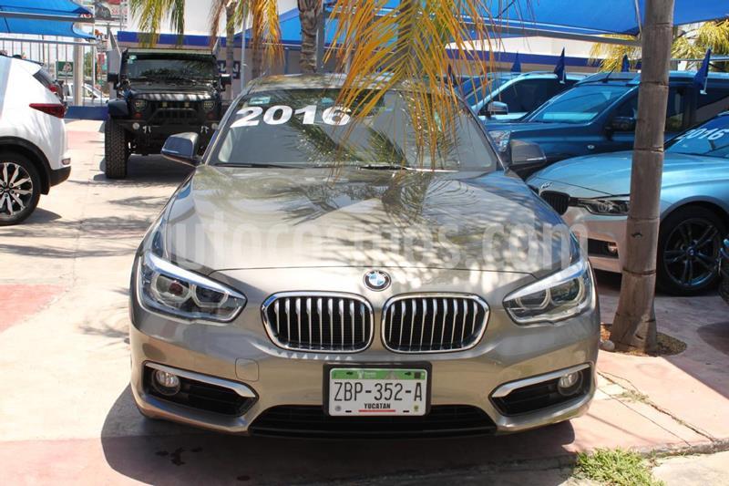 BMW Serie 1 3P 120iA Urban Line usado (2016) color Blanco precio $335,000