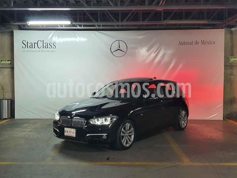 BMW Serie 1 5P 120iA Urban Line usado (2017) color Negro precio $329,000