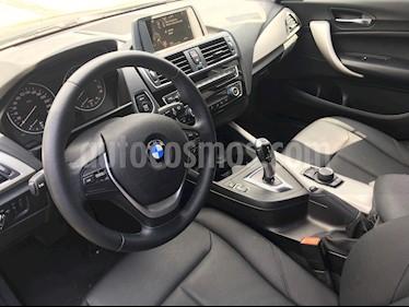 BMW Serie 1 5P 120i usado (2016) color Gris precio $275,000