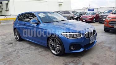 BMW Serie 1 3P 120iA M Sport usado (2018) color Azul Electrico precio $415,000