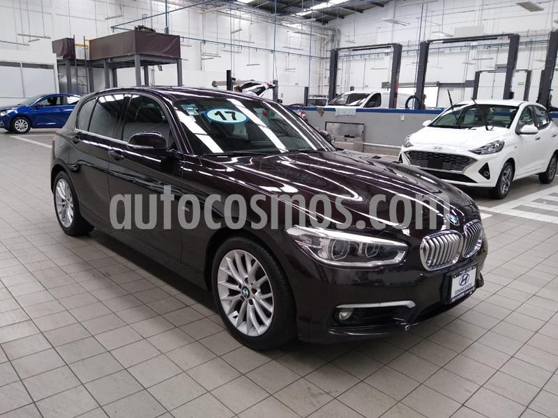 BMW Serie 1 5P 120iA Urban Line usado (2017) color Marron precio $320,000