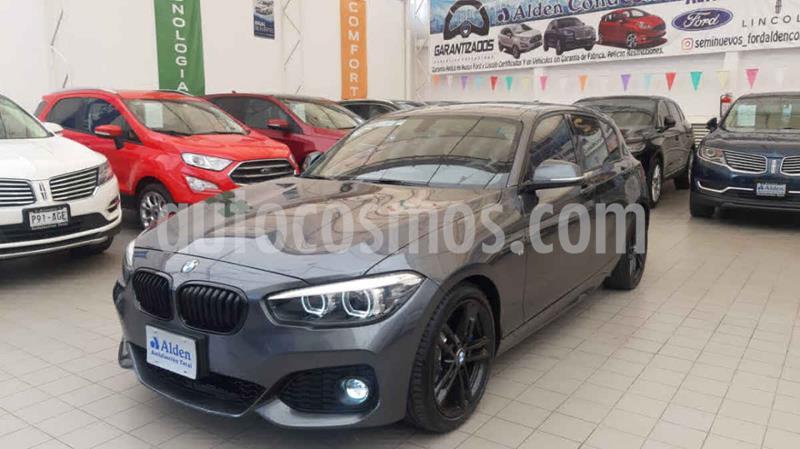 BMW Serie 1 3P 120iA M Sport usado (2019) color Negro precio $448,000
