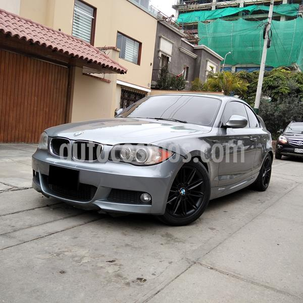 BMW Serie 1 120i Active 3P usado (2012) color Gris precio u$s14,990