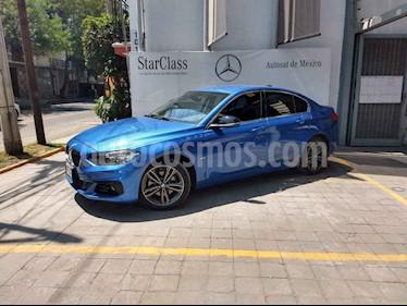Foto venta Auto usado BMW Serie 1 Sedan 118iA Sport Line (2019) color Azul precio $428,900