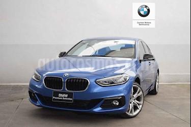 Foto venta Auto usado BMW Serie 1 Sedan 120iA Sport Line (2019) color Azul precio $480,000