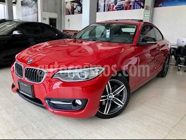 Foto venta Auto usado BMW Serie 2 220iA Aut (2015) color Rojo precio $310,000