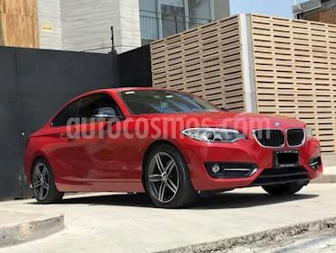 BMW Serie 2 220iA Aut usado (2016) color Rojo precio $355,000