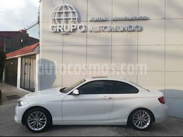Foto venta Auto usado BMW Serie 2 220iA Aut (2015) color Blanco precio $279,000