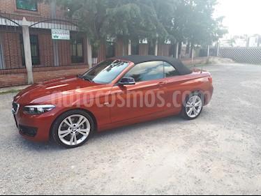 Foto venta Auto Seminuevo BMW Serie 2 220iA Convertible Sport Line Aut (2018) color Naranja precio $630,000