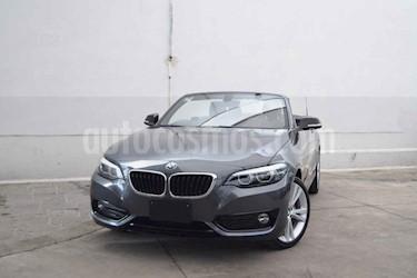 Foto venta Auto usado BMW Serie 2 220iA Convertible Sport Line Aut (2019) color Gris precio $590,000