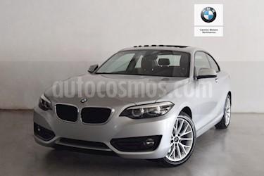 BMW Serie 2 220iA Executive Aut usado (2018) color Plata precio $490,000