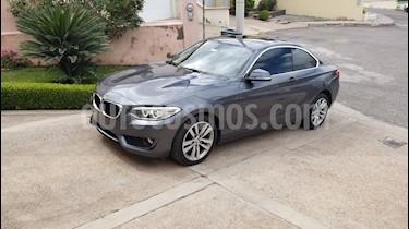BMW Serie 2 220iA Executive Aut usado (2017) color Gris Mineral precio $395,000