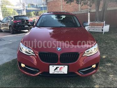 Foto venta Auto usado BMW Serie 2 220iA Sport Line Aut (2017) color Rojo precio $409,000