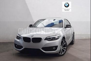 Foto venta Auto usado BMW Serie 2 220iA Sport Line Aut (2019) color Plata precio $585,000