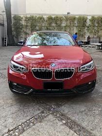 BMW Serie 2 220iA Sport Line Aut usado (2016) color Rojo precio $359,000
