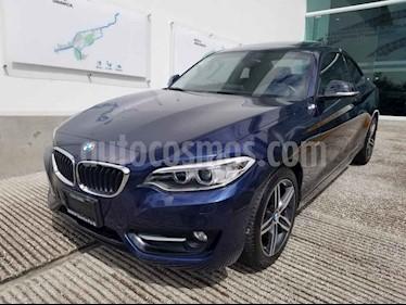 Foto venta Auto usado BMW Serie 2 220iA Sport Line Aut (2017) color Azul precio $388,500