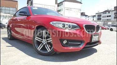 Foto venta Auto usado BMW Serie 2 220iA Sport Line Aut (2016) color Rojo precio $369,000