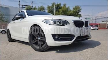 Foto venta Auto usado BMW Serie 2 220iA Sport Line Aut (2016) color Blanco precio $329,000