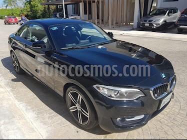 Foto BMW Serie 2 220iA Sport Line Aut usado (2015) color Negro precio $340,000