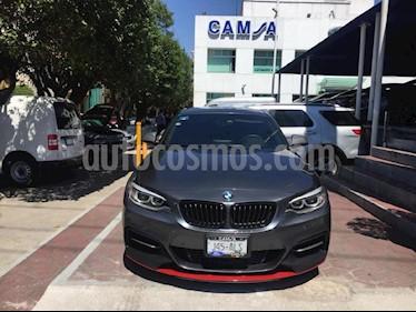 Foto venta Auto usado BMW Serie 2 M235iA M Sport Aut (2014) color Gris precio $409,900