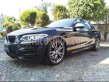 Foto venta Auto usado BMW Serie 2 M235iA M Sport Aut (2015) color Negro Zafiro precio $460,000