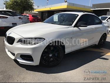 Foto BMW Serie 2 M240iA Aut usado (2017) color Blanco Mineral precio $515,000