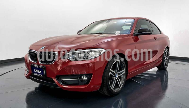BMW Serie 2 220iA Convertible Sport Line Aut usado (2016) color Rojo precio $339,999
