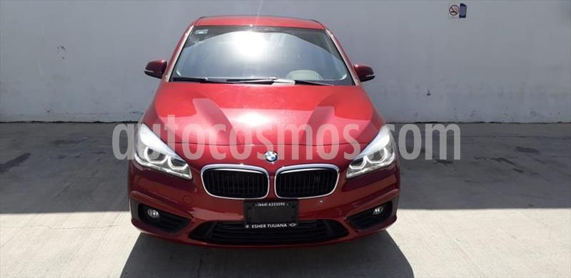 BMW Serie 2 220I ACTIVE TOURER L4/2.0/T AUT usado (2016) color Rojo precio $280,000