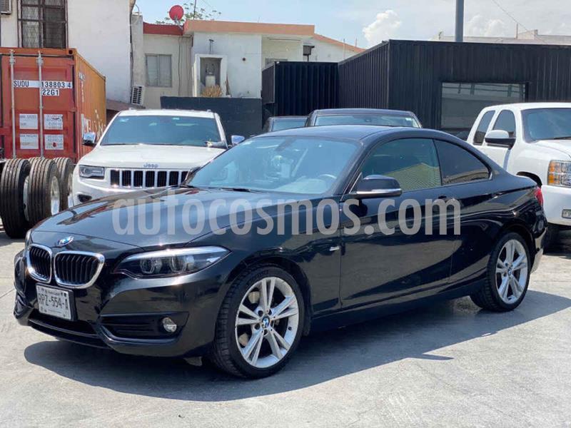 BMW Serie 2 220iA Sport Line Aut usado (2018) color Negro precio $379,800
