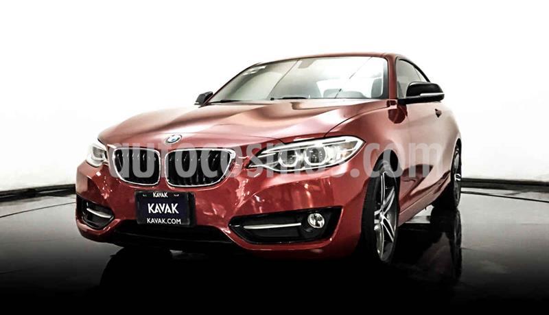 BMW Serie 2 220iA Convertible Sport Line Aut usado (2016) color Rojo precio $344,999