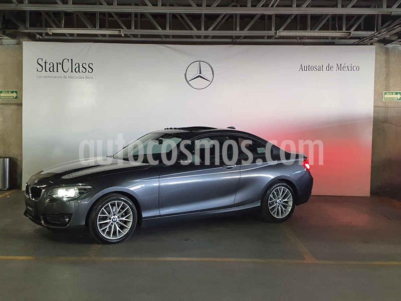 BMW Serie 2 220iA Executive Aut usado (2018) color Gris precio $389,000