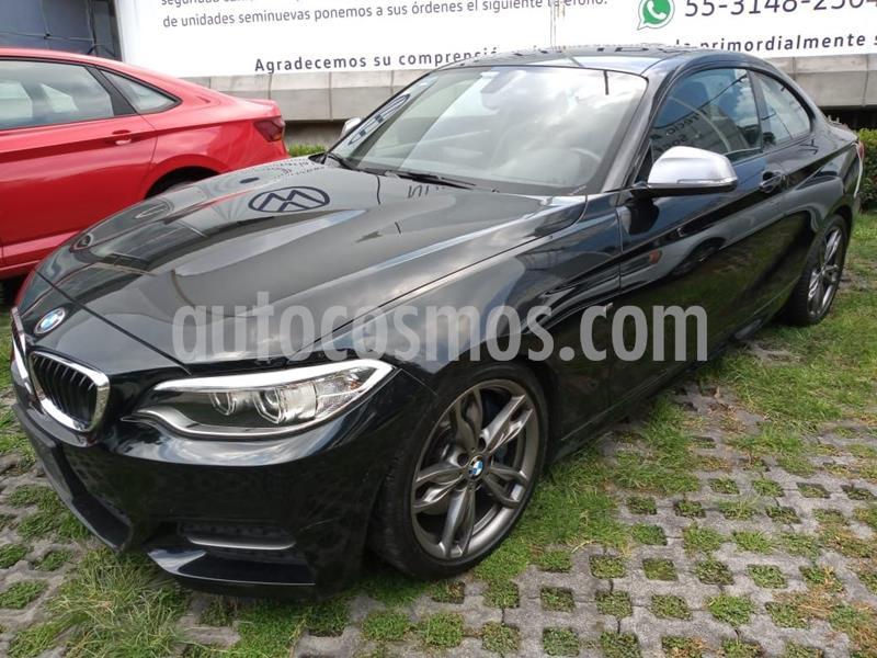 BMW Serie 2 M235iA M Sport Aut usado (2015) color Negro precio $422,000