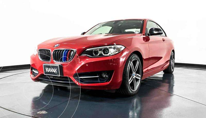 Foto BMW Serie 2 220iA Convertible Sport Line Aut usado (2016) color Rojo precio $334,999